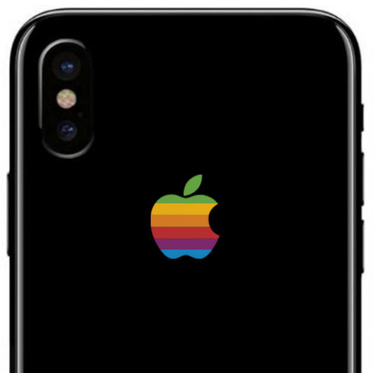 iPhone X Retro Apple
