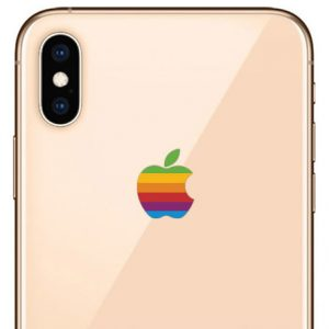iPhone Xs Max Retro Sticker