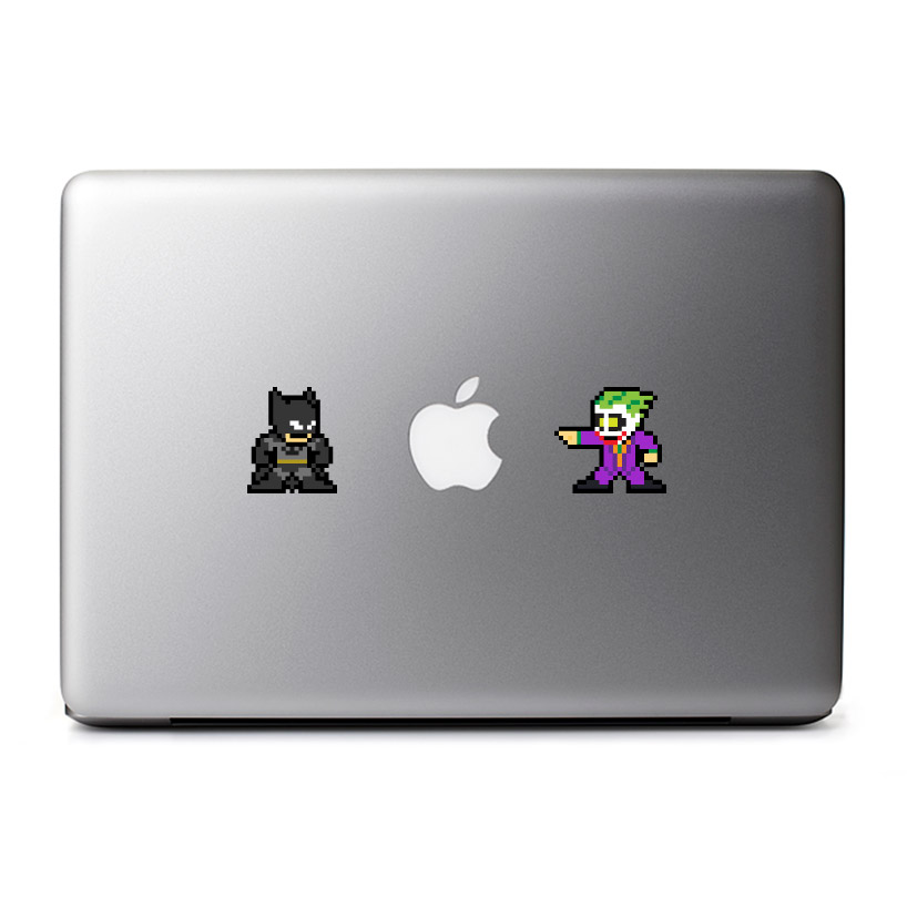 le8bit 8-Bit Batman vs Joker